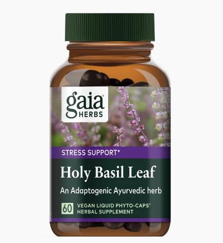Gaia Holy Basil 60 Capsules