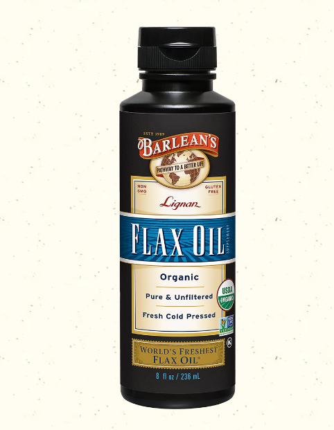 Barlean's Flax Oil Highest Lignan 8 oz