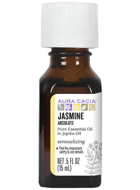 Aura Cacia Essential Oil, Jasmine Absolute 0.5oz