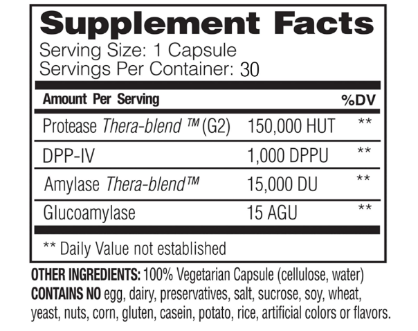 Enzymedica  GlutenEase 30ct