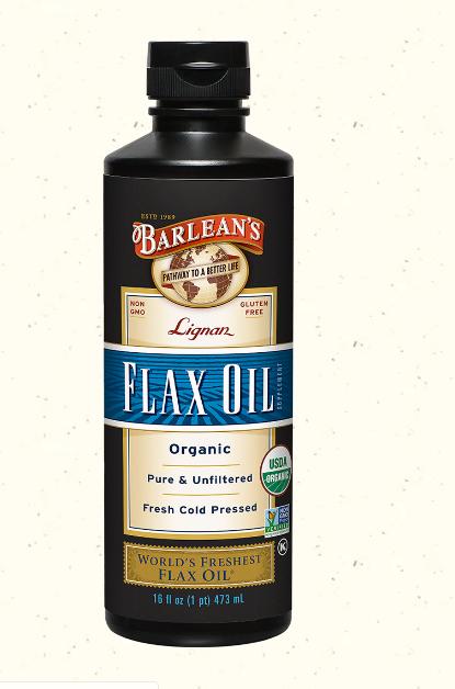 Barlean's Organic Lignan Flaxseed Oil 16oz