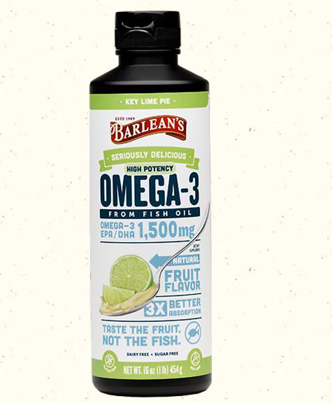 Barlean's Omega Swirl Ultra High Potency, Key Lime 16oz