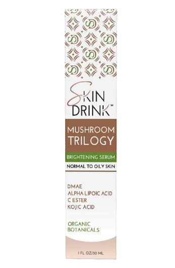 Skin Drink Mushroom Trilogy Serum