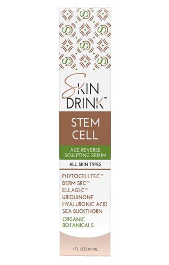 Skin Drink Stem Cell Age Reverse