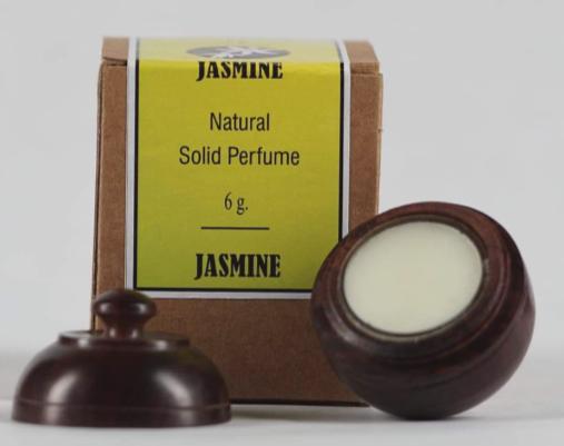 Natural Solid Perfume Jasmine