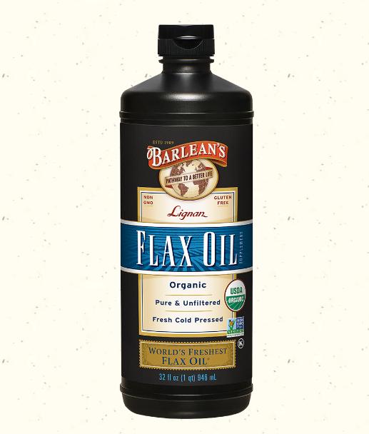 Barlean's Lignan Flax Oil 32oz
