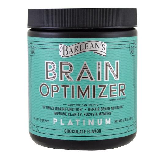 Barlean's Brain Optimizer, Chocolate 30 day 6.35oz