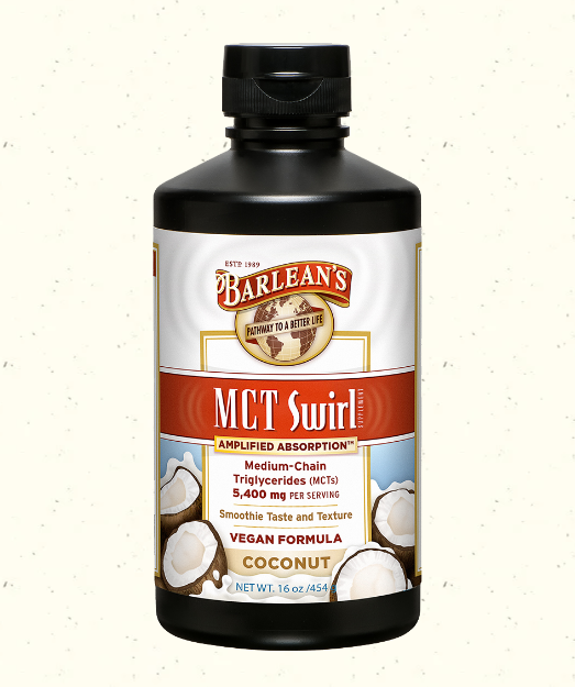 Barlean's MCT Swirl Coconut 16 oz