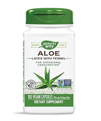 Nature's Way Aloe Latex & Leaf 100ct.
