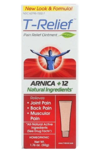Heel T-Relief Pain Relief Ointment 1.75oz