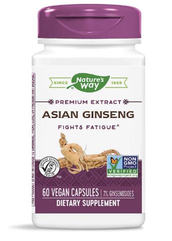 Nature's Way Asian Ginseng 60ct