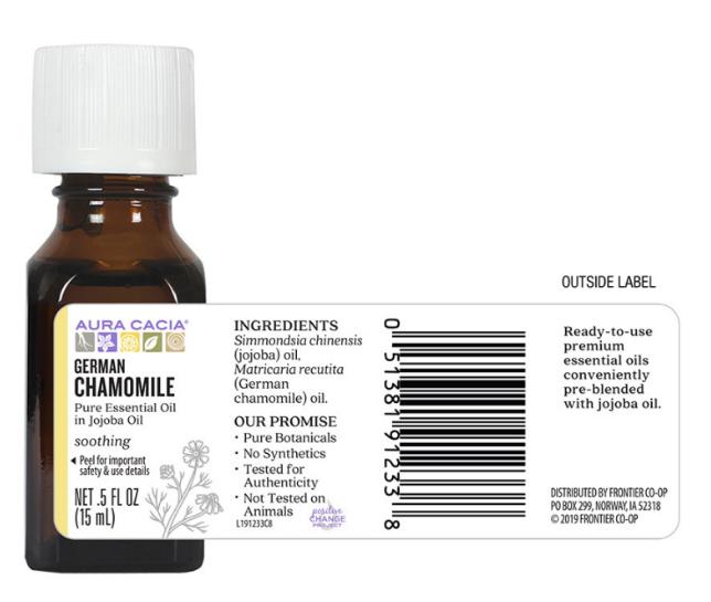 Aura Cacia Essential Oil, German Chamomille 0.5oz