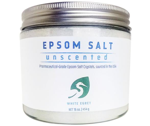 White Egret Pharmaceutical Grade Epsom Salt