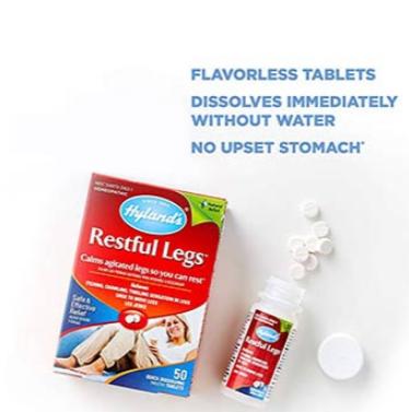 Hyland's Restful Legs Tablets 50 Tablets
