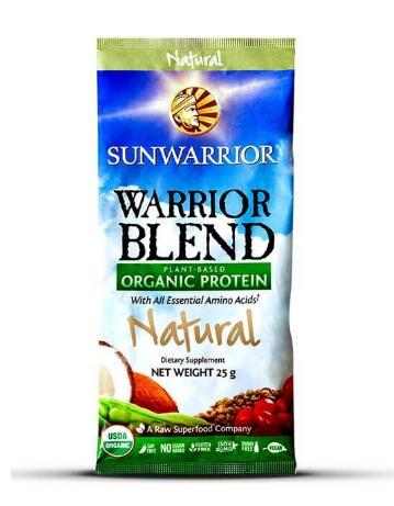 Sunwarrior Warrior Blend Natural Single Serving