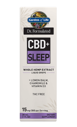 Garden of Life Dr. Formulated CBD+Sleep 1oz