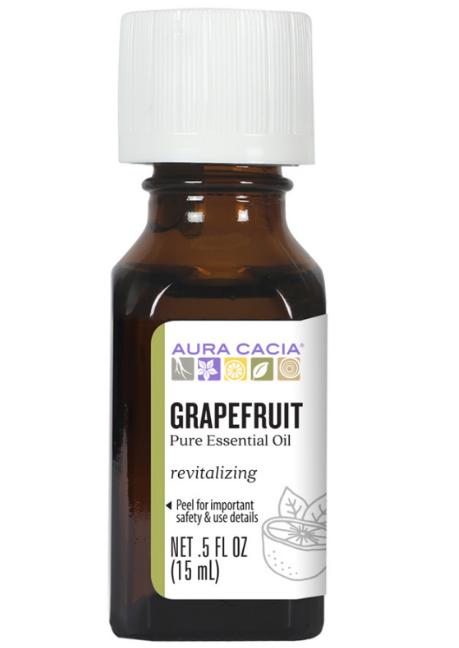 Aura Cacia Essential Oil, Grapefruit 0.5oz