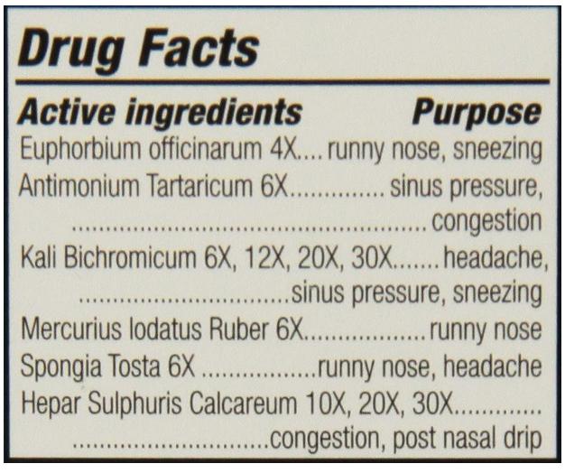 Natrabio Sinus Relief 1 oz