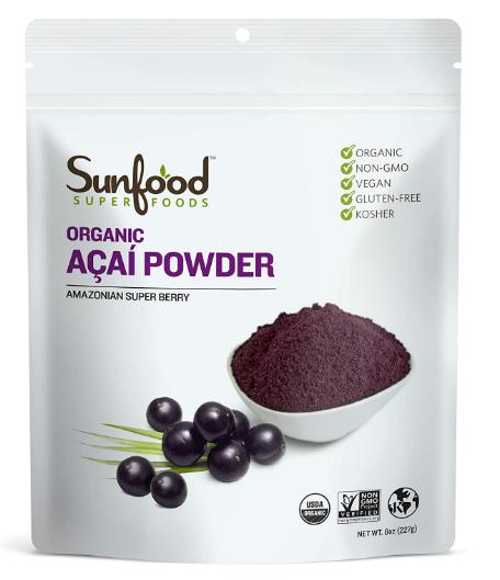 Sunfood Acai Powder 4oz