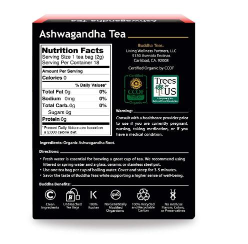 Buddha Teas, Ashwaganda Tea