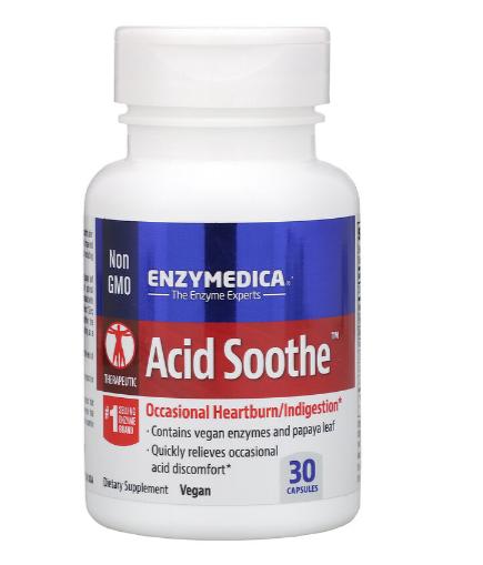 Enzymedica Acid Soothe 30ct