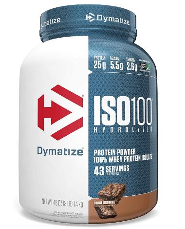 Dymatize ISO fudge brownie 3 lb
