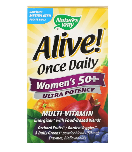 Nature's Way Alive Daily Women's 50+ 60 tablets