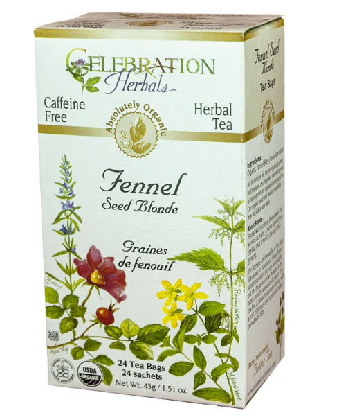 Celebration Herbals Fennel Tea