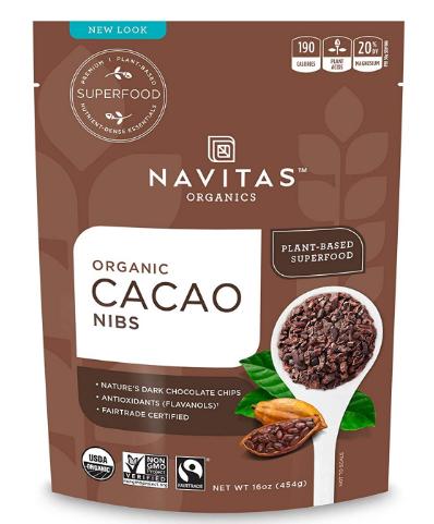 Navitas Organic Cacao Nibs 16 oz