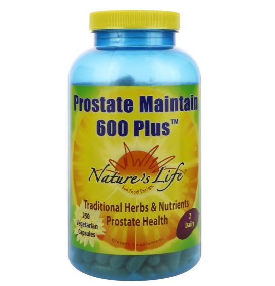 Nature's Life Prostate Maintain 600 Plus