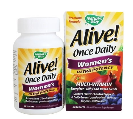 Nature's Way Alive Once Daily Women's 60 tablets