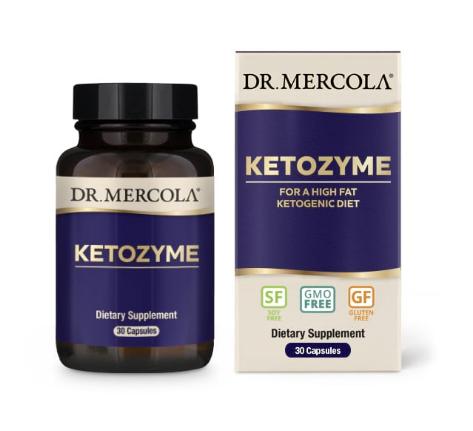 Dr. Mercola Ketozyme 30 Capsules