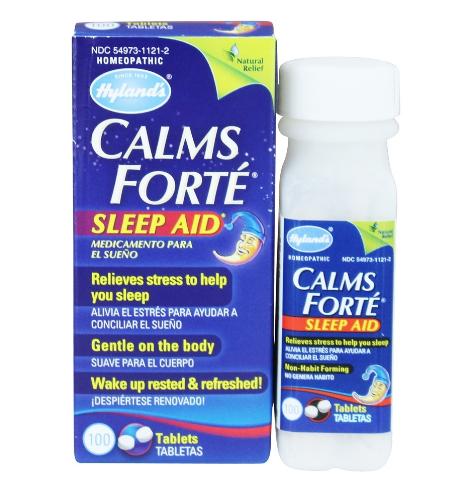 Hyland's Calm Forte Sleep Aid 100 Tablets