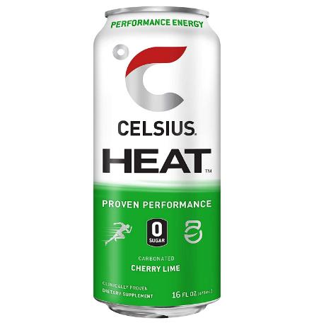 Celsius HEAT Chery Lime 16 oz
