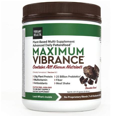 Vibrant Health Maximum Vibrance, Chocolate 25.28oz