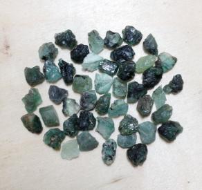Emerald Raw Small Gemstone