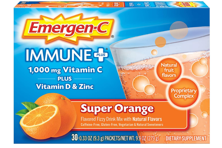 Emergen-C Super Orange + D 30 Single packs