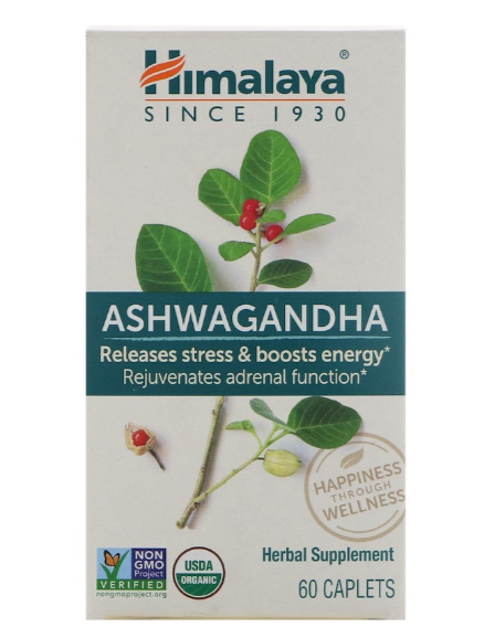 Himalaya Ashwaganda 60 caplets