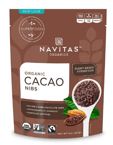 Navitas Organic Cacao Nibs 8 oz