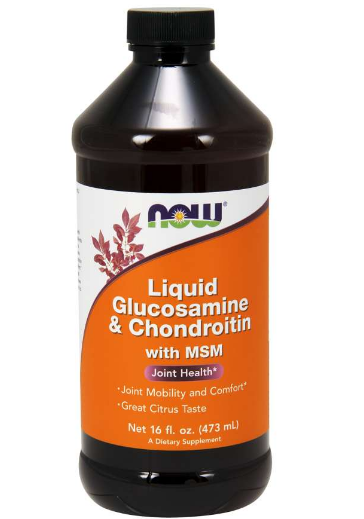 Now Glucosamine & Chondroitin with MSM 16 oz