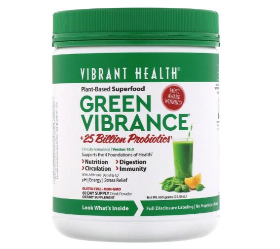Vibrant Health Green Vibrance 60 day Supply
