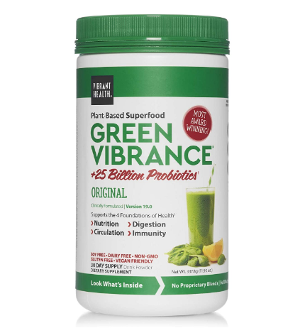 Vibrant Health Green Vibrance 12.5 oz