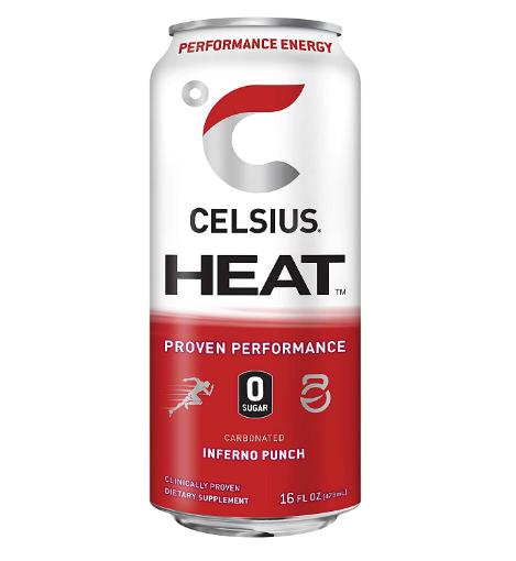 Celsius HEAT Inferno Punch 16oz