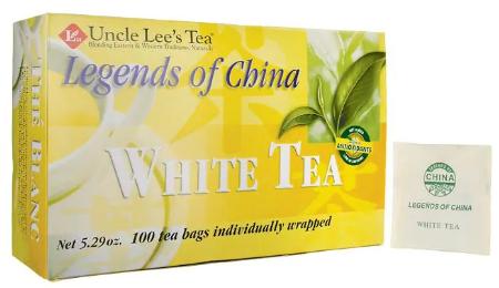 Uncle Lee's organic White Tea 100 tea bags