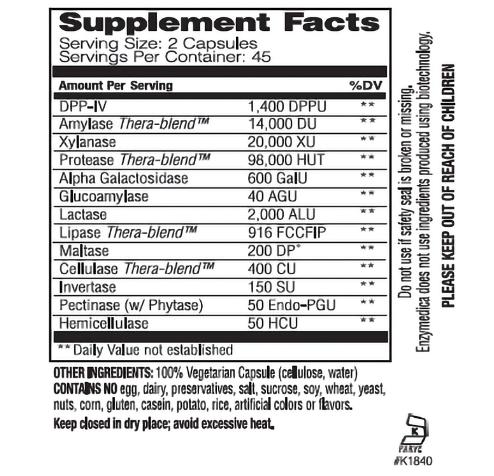 Enzymedica Digest Spectrum 90 Capsules