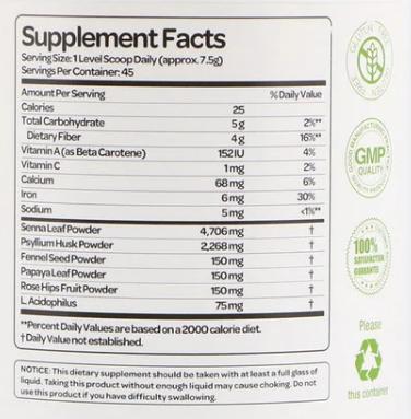 Health Plus Super Colon Cleanse 12oz.