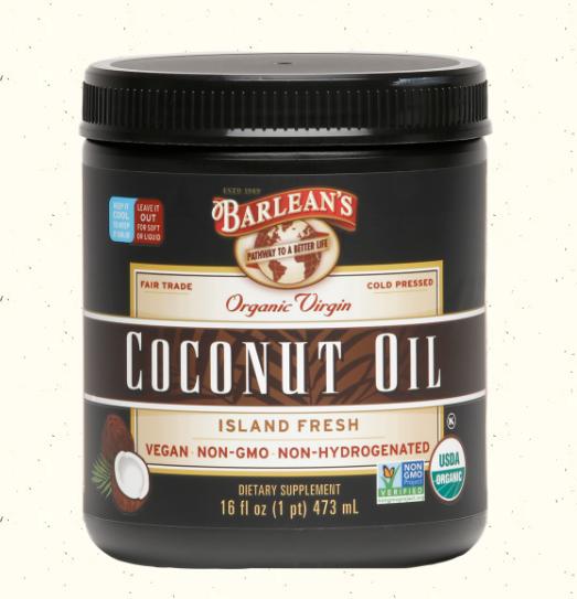Barlean's Extra Virgin Coconut Oil 16oz