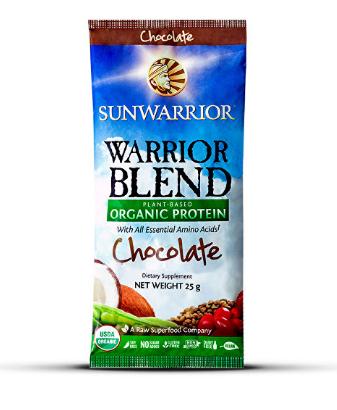 Sunwarrior Warrior Blend Chocolate Single Serving