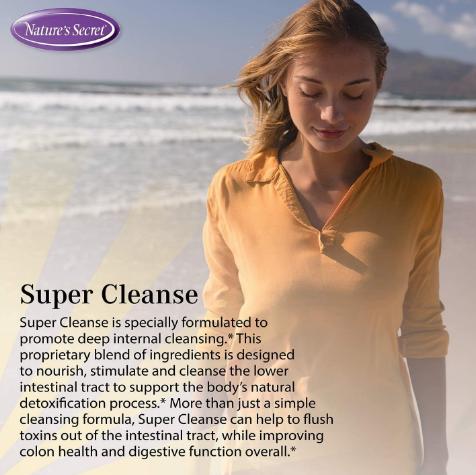 Natures Secret Super Cleanse 200 tblts