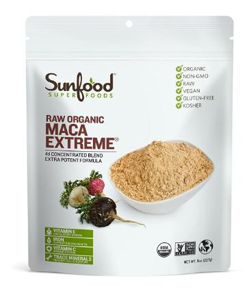 Sunfood Raw Organic Maca Extreme 8oz
